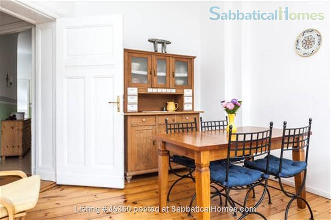 Beautiful sunny 4 room Apartment with balcony and elevator by the park Home Rental in Berlin, Berlin, Germany 0