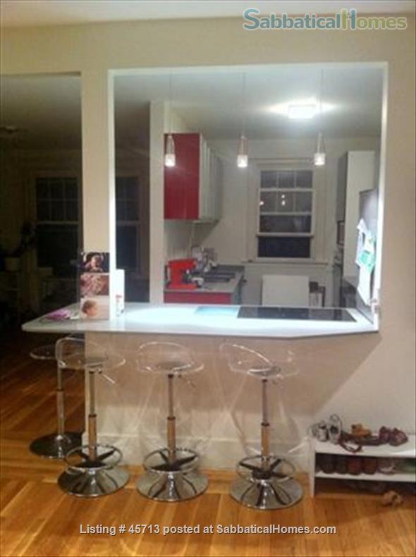 Beautiful furnished 3-bedroom condo in Coolidge Corner, Brookline, AUG 7-29 Home Rental in Brookline, Massachusetts, United States 3