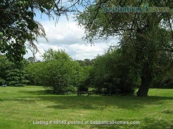 Haven in Touraine —  Charming restored country cottage with large fireplace and apparent beams, surrounded by park-like garden, fields and forest.  Home Rental in Bossay-sur-Claise, Centre-Val de Loire, France 9