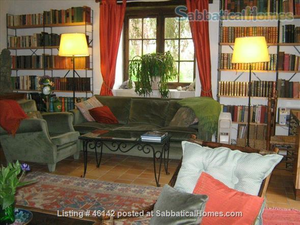 Haven in Touraine —  Charming restored country cottage with large fireplace and apparent beams, surrounded by park-like garden, fields and forest.  Home Rental in Bossay-sur-Claise, Centre-Val de Loire, France 0