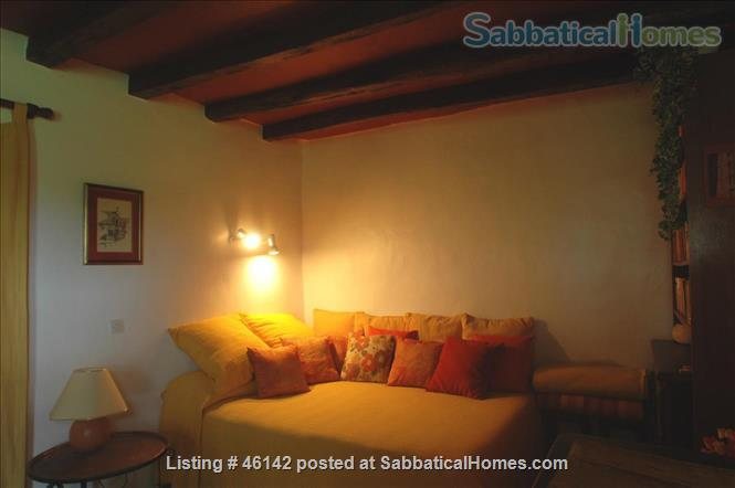 Haven in Touraine —  Charming restored country cottage with large fireplace and apparent beams, surrounded by park-like garden, fields and forest.  Home Rental in Bossay-sur-Claise, Centre-Val de Loire, France 3
