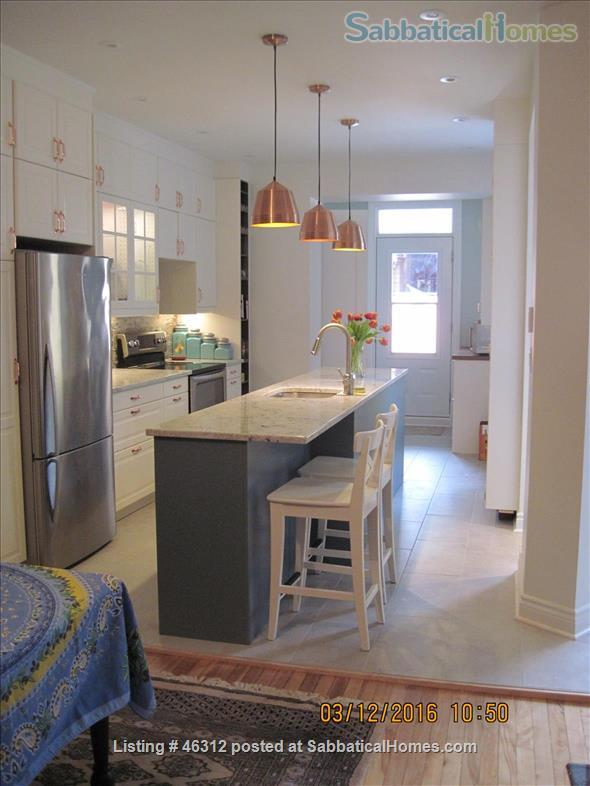Newly renovated three bedroom apartment, located in the trendy Mile-End district Home Rental in Montreal, Quebec, Canada 0
