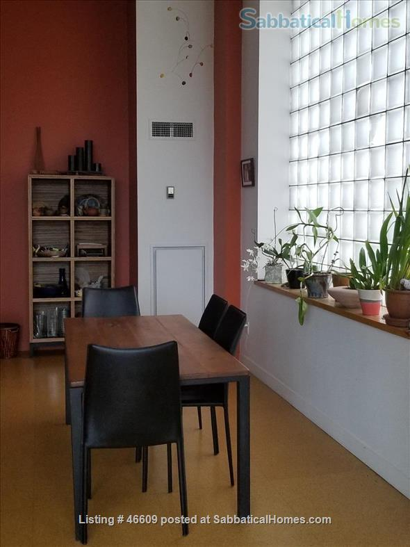 Quiet, light-filled, Kensington Market loft   Home Rental in Toronto, Ontario, Canada 0