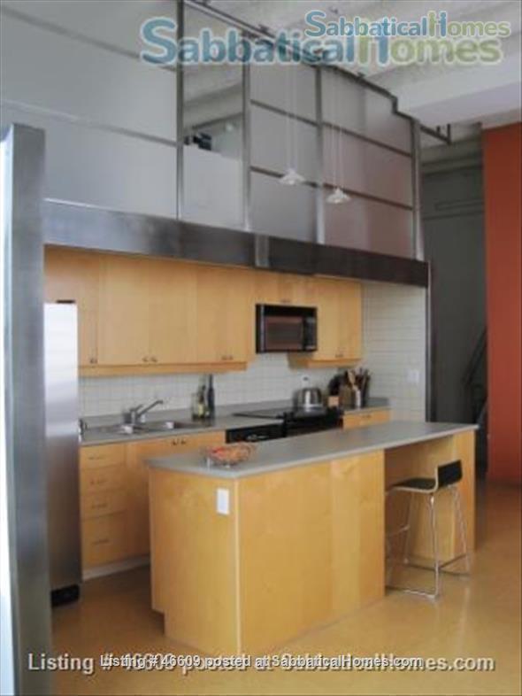 Quiet, light-filled, Kensington Market loft   Home Rental in Toronto, Ontario, Canada 2