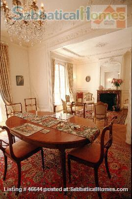 Beautiful, spacious (1000sqft), elegant 1910 Left Bank apartment, furnished with antiques. Perfect for an academic couple Home Rental in Paris, Île-de-France, France 1