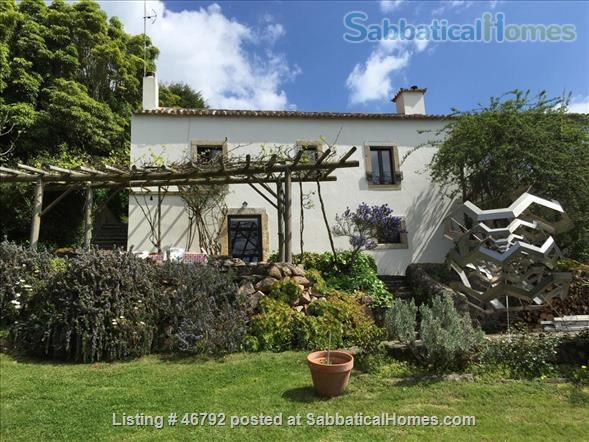 17th century converted farmhouse for 2 - 6 people to rent in World Heritage site of Serra de Sintra, Portugal Home Rental in Colares, Lisboa, Portugal 2