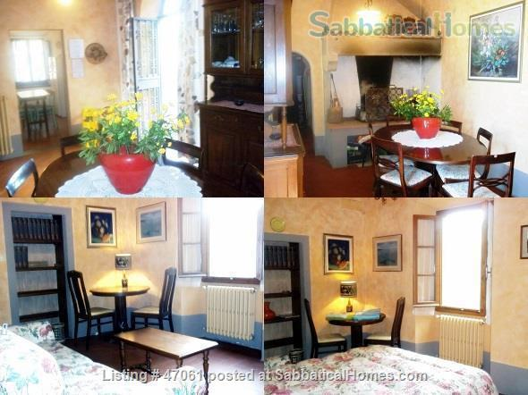 Two lovely Tuscan apartments with patio and garden in villa close to Florence in Chianti Valdarno Home Rental in Città Metropolitana di Firenze, Toscana, Italy 7