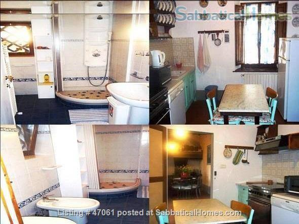 Two lovely Tuscan apartments with patio and garden in villa close to Florence in Chianti Valdarno Home Rental in Città Metropolitana di Firenze, Toscana, Italy 8