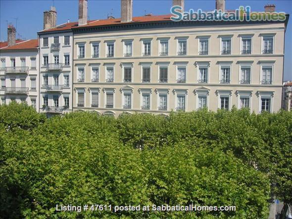 First class  charming apartment located in the residential area in  Lyon  France - 2 bedrooms - outstanding location Home Rental in Lyon, RA, France 1