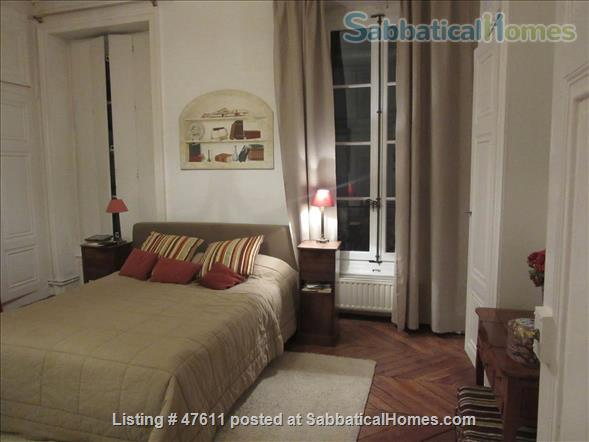 First class  charming apartment located in the residential area in  Lyon  France - 2 bedrooms - outstanding location Home Rental in Lyon, RA, France 2