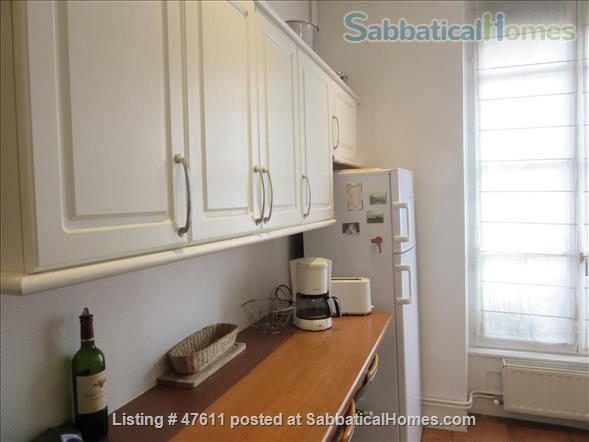 First class  charming apartment located in the residential area in  Lyon  France - 2 bedrooms - outstanding location Home Rental in Lyon, RA, France 8