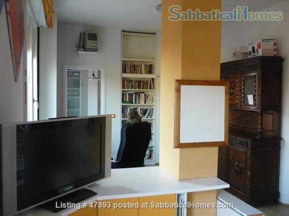 Cozy penthouse in center of the city, near the University of Bologna and Johns Hopkins University Home Rental in Bologna, Emilia-Romagna, Italy 0