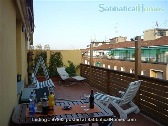 Cozy penthouse in center of the city, near the University of Bologna and Johns Hopkins University Home Rental in Bologna, Emilia-Romagna, Italy 1