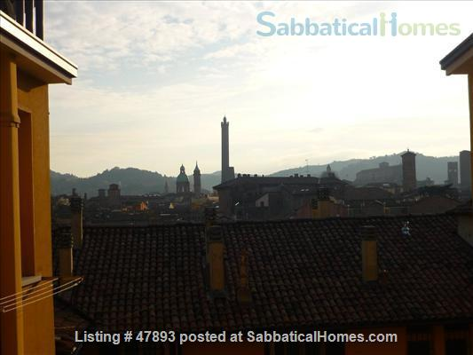 Cozy penthouse in center of the city, near the University of Bologna and Johns Hopkins University Home Rental in Bologna, Emilia-Romagna, Italy 8