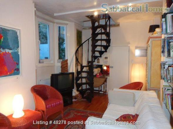 Artist's Flat with Private Roof Terrace for Rent in North London NW5  Home Rental in Greater London, England, United Kingdom 0