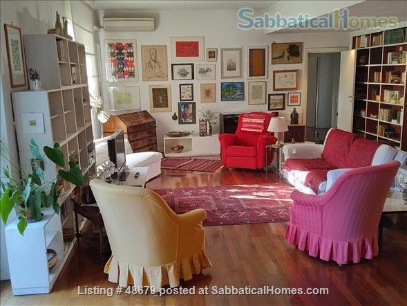 Professor's spacious 3 bedrooms apartment in Rome Home Rental in Roma, Lazio, Italy 0