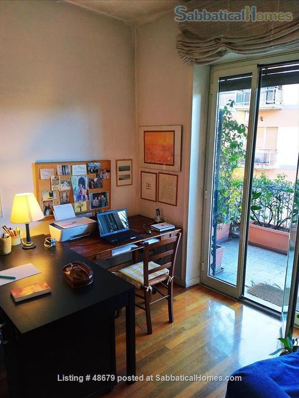 Professor's spacious 3 bedrooms apartment in Rome Home Rental in Roma, Lazio, Italy 6