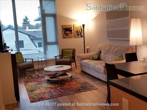 KITS FURNISHED CONDO 2 BED/2 BATH + OFFICE--family-friendly, small pets OK Home Rental in Vancouver, British Columbia, Canada 0