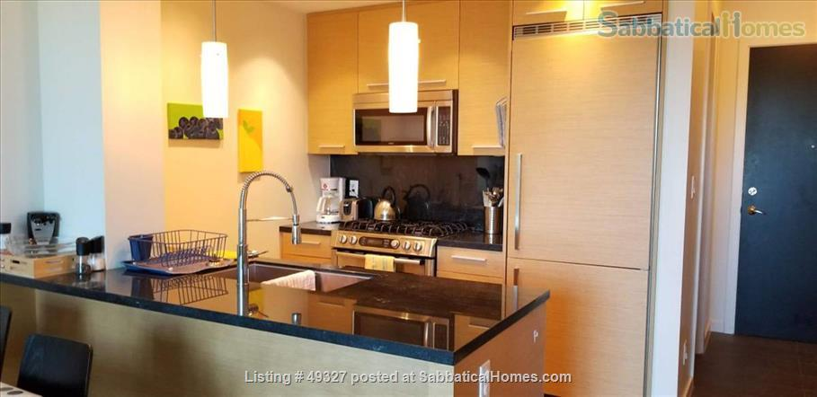 KITS FURNISHED CONDO 2 BED/2 BATH + OFFICE--family-friendly, small pets OK Home Rental in Vancouver, British Columbia, Canada 2
