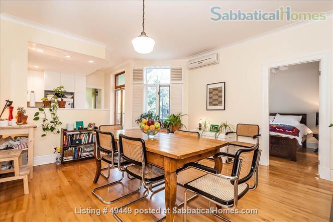 Sunny, renovated 2BR Mile End gem  Home Rental in Montreal, Quebec, Canada 1
