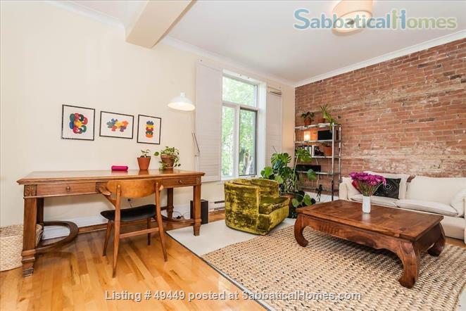 Sunny, renovated 2BR Mile End gem  Home Rental in Montreal, Quebec, Canada 2