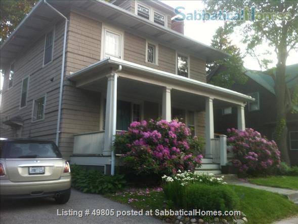 Lovely 4 BDRM home on Providence's East Side (Brown/RISD), 40 mins from Boston, Cape, Newport.  Providence, the best small city in America, according to Architectural Digest! Home Exchange in Providence, Rhode Island, United States 1