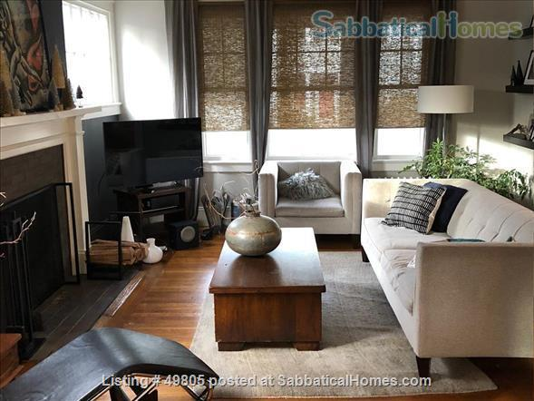 Lovely 4 BDRM home on Providence's East Side (Brown/RISD), 40 mins from Boston, Cape, Newport.  Providence, the best small city in America, according to Architectural Digest! Home Exchange in Providence, Rhode Island, United States 0