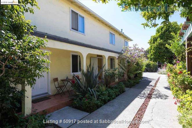 Sparkling clean ground floor condo, utilities & wifi included, walk everywhere Home Rental in Berkeley, California, United States 1