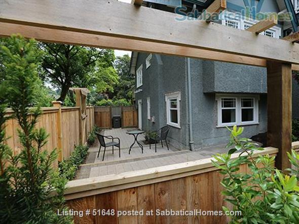 Spacious 2-bedroom street level apartment with large outdoor patio 15 min from downtown Vancouver. All utilities included in price. Home Exchange in Vancouver, British Columbia, Canada 0