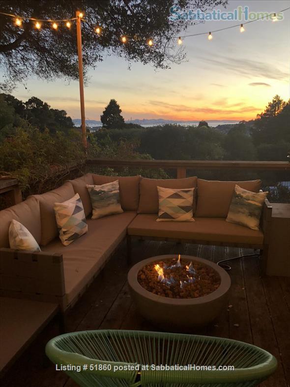 Indoor/Outdoor Living with San Francisco View; 3 bedrooms/2.5 baths - Berkeley, CA Home Rental in Kensington, California, United States 6