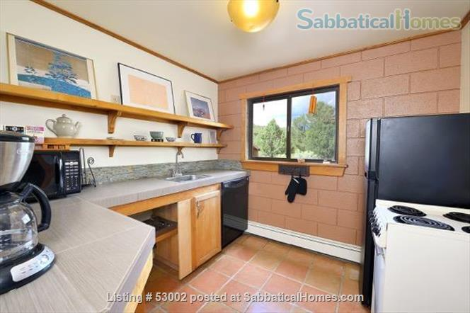 Santa Fe guesthouse in Beautiful Setting Home Rental in Santa Fe, New Mexico, United States 3
