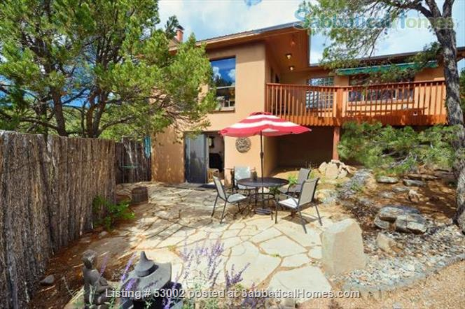 Santa Fe guesthouse in Beautiful Setting Home Rental in Santa Fe, New Mexico, United States 7