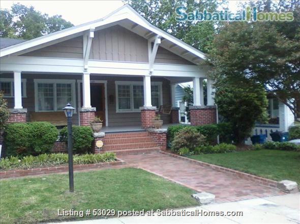 2 Bdrm Historic Home Durham NC: June 20, 2021-August 20, 2021 Home Rental in Durham, North Carolina, United States 1