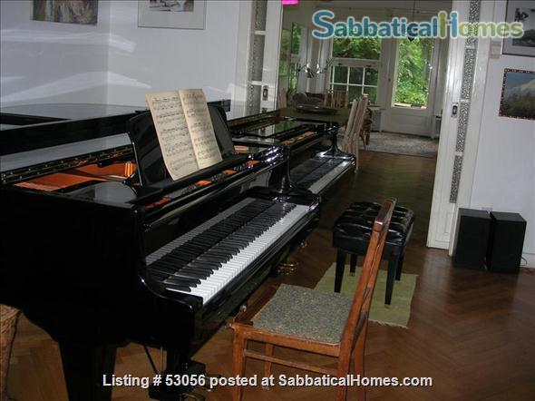 4 bedroom house with garden and pianos in Berlin Dahlem Home Rental in Berlin, Berlin, Germany 0