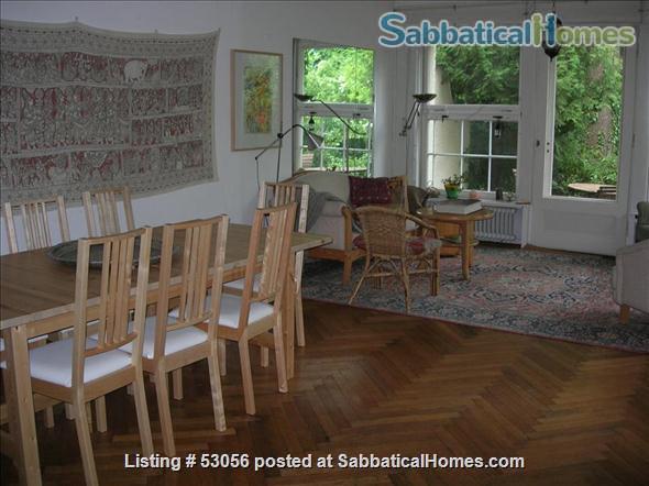 4 bedroom house with garden and pianos in Berlin Dahlem Home Rental in Berlin, Berlin, Germany 2