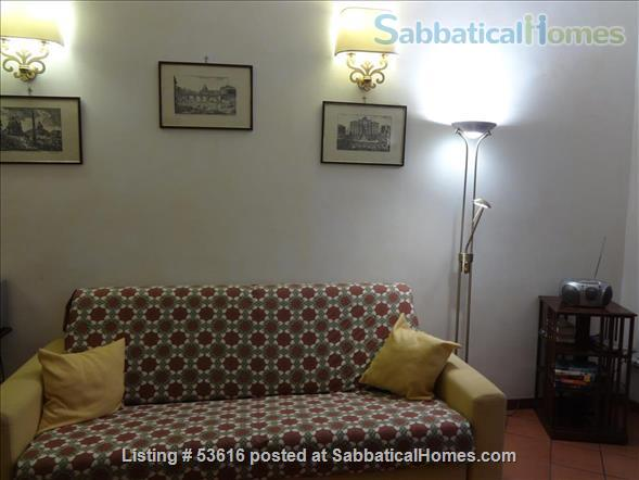 Colisseum  view, cozy apartment in Monti  neighborhood  (2-4 guests) Home Rental in Roma, Lazio, Italy 2