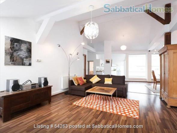 Penthouse apartment in beloved Kreuzberg Location -Park across the street! Home Rental in Berlin, Berlin, Germany 2