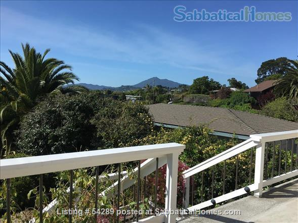Bright, comfortable 2+ bedroom view home close to San Francisco & Berkeley Home Exchange in San Rafael, California, United States 0
