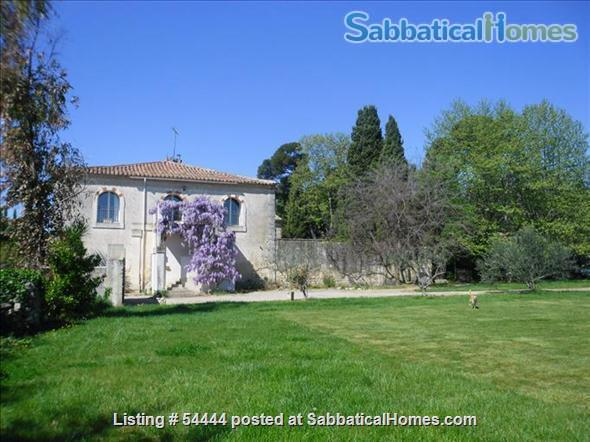 Spacious four bedroom house with large garden  just outside Montpellier , France Home Rental in Lunel-Viel, Languedoc-Roussillon, France 1