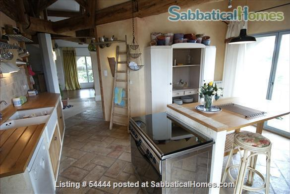 Spacious four bedroom house with large garden  just outside Montpellier , France Home Rental in Lunel-Viel, Languedoc-Roussillon, France 4