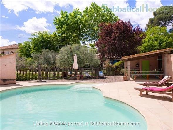 Spacious four bedroom house with large garden  just outside Montpellier , France Home Rental in Lunel-Viel, Languedoc-Roussillon, France 8