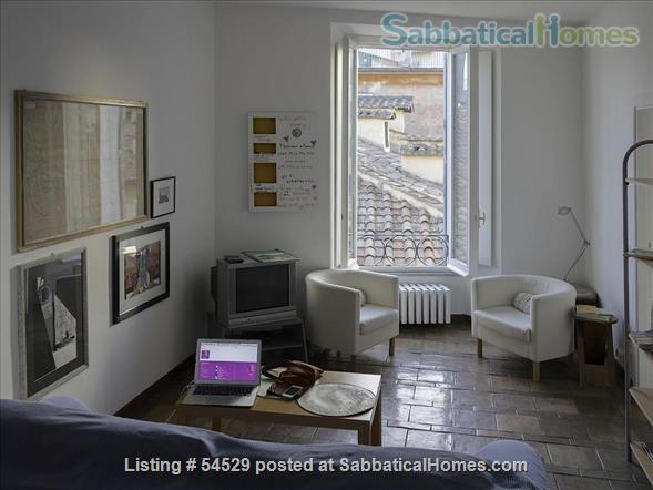 Rome is Home: Unique one-bedroom apartment in the very heart of Rome Home Rental in Rome, Lazio, Italy 3