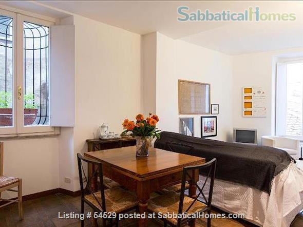 Rome is Home: Unique one-bedroom apartment in the very heart of Rome Home Rental in Rome, Lazio, Italy 4