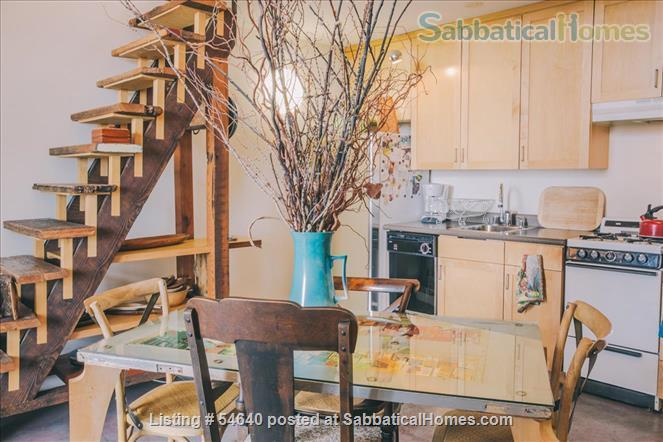 TOP FLOOR 1 BR + LOFT CONDO D'TOWN BERKELEY, WALK TO CAMPUS, $2999 mth, ALL UTILITIES INCLUDED Home Rental in Berkeley, California, United States 1