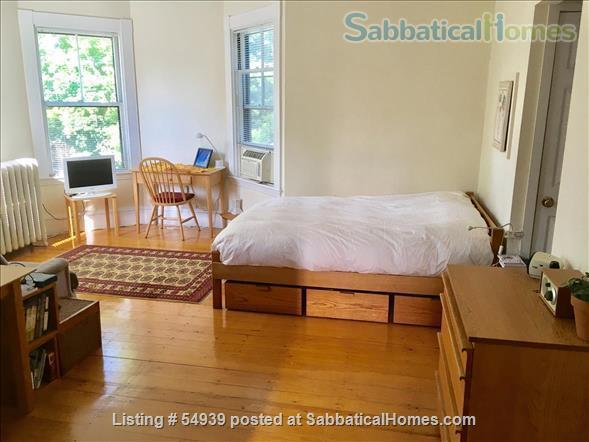 WALK TO HARVARD -  Spacious studio apartment with separate kitchen, and private entry. Exceptionally clean and conveniently located.  In-unit laundry, all utilities, internet included. Home Rental in Cambridge, Massachusetts, United States 6