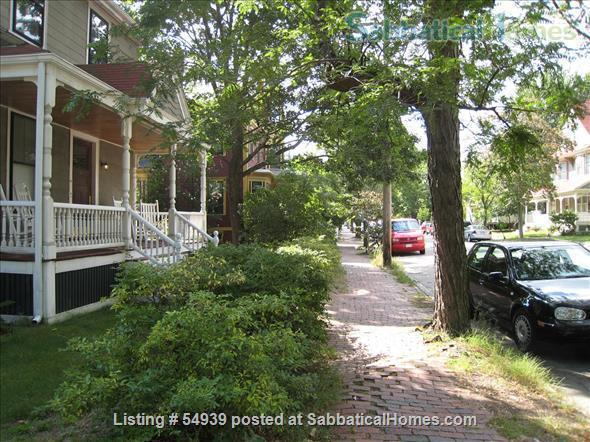 WALK TO HARVARD -  Spacious studio apartment with separate kitchen, and private entry. Exceptionally clean and conveniently located.  In-unit laundry, all utilities, internet included. Home Rental in Cambridge, Massachusetts, United States 8