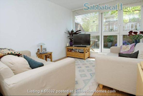 2 bed flat, 1 minute walk to River, 5 minutes to tube station Home Rental in London, England, United Kingdom 1