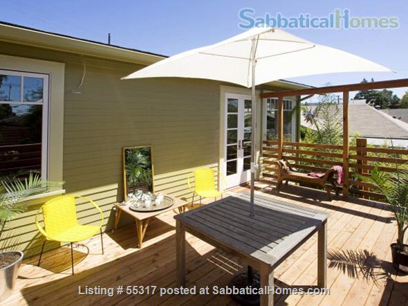 TROPICAL MODERN BUNGALOW-OAKLAND UPPER DIMOND- FURNISHED Home Rental in Oakland, California, United States 0