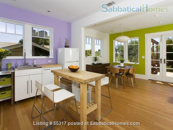 TROPICAL MODERN BUNGALOW-OAKLAND UPPER DIMOND- FURNISHED Home Rental in Oakland, California, United States 2
