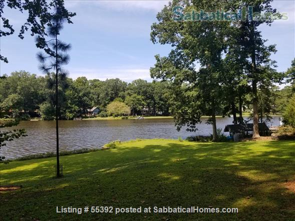 Lakeside living at the heart of lovely Chapel Hill Home Rental in Chapel Hill, North Carolina, United States 1